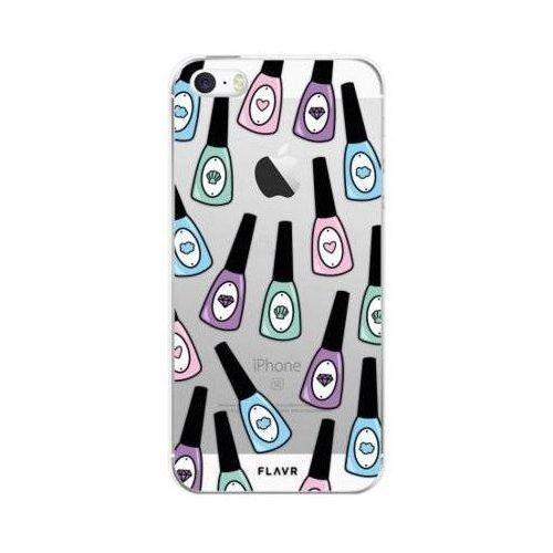 Etui FLAVR iPlate Nail Polish do Apple iPhone 5/5s/SE Wielokolorowy (27163)