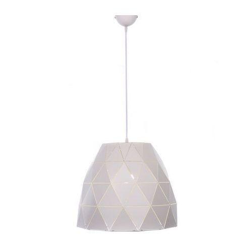 Lumina deco Lampa wisząca biała dukka ldp 7415-1 (wt) - (5907739372390)