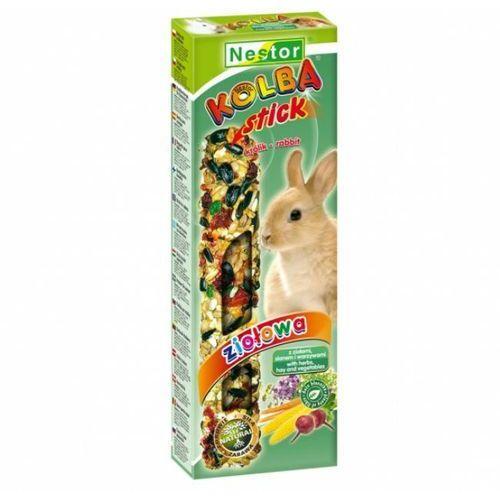 Nestor  kolba dla królików z ziołami, sianem i warzywami 2 szt.