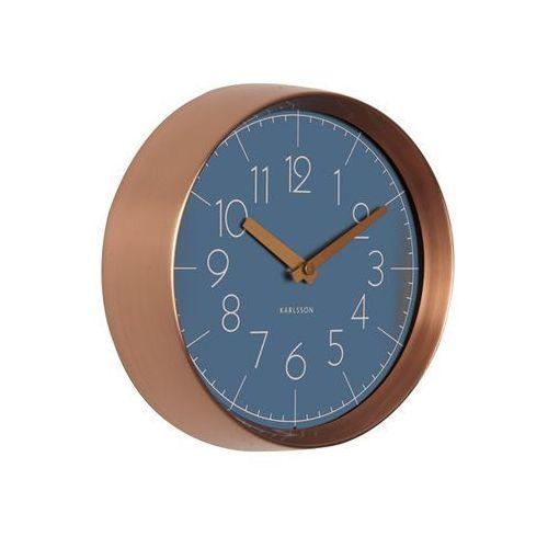 Zegar ścienny Convex jeans blue cooper by Karlsson