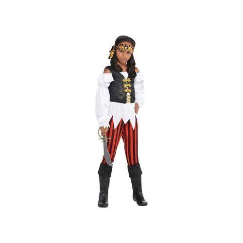 Kostium Nikczemna Piratka dla dziewczynki - 4/6 lat (114) (0013051730307)