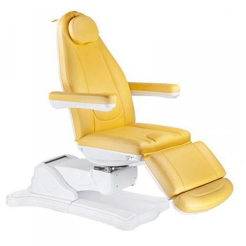 Elektryczny fotel kosmetyczny mazaro br-6672 miodowy marki Vanity_b