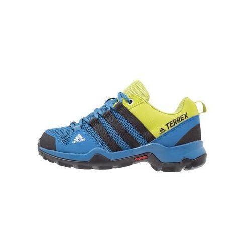 adidas Performance TERREX AX2R Półbuty trekkingowe core blue/core black/unity lime, kolor niebieski