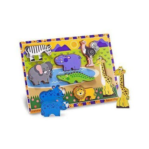 Puzzle drewniane MELISSA & DOUG Safari 13722 (0000772137225)