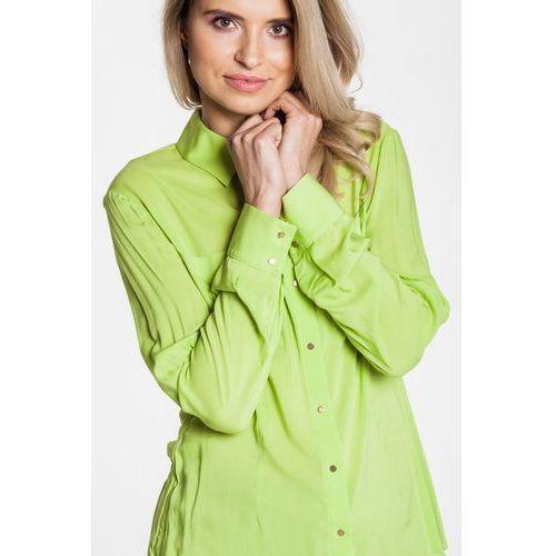 Zielona koszula z długim rękawem - Duet Woman, 1 rozmiar