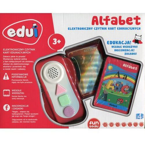 Icom Edui elektroniczny czytnik kart edukacyjnych alfabet (5206051141500)