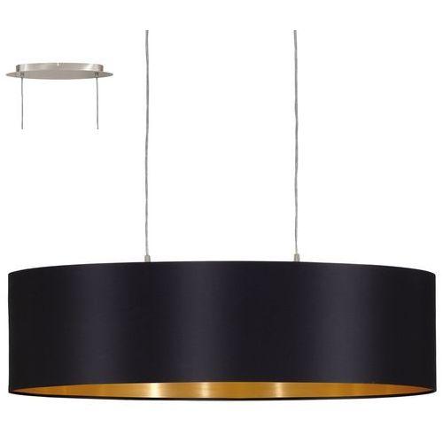 Eglo Lampa wisząca maserlo czarna 22 cm, 31611