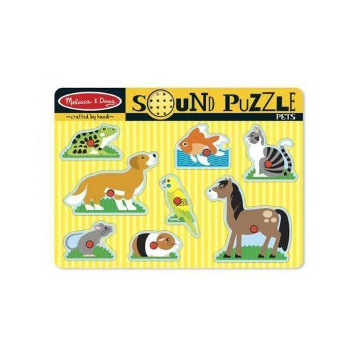 Melissa & doug Puzzle dźwiękowe zwierzęta domowe (0000772107303)
