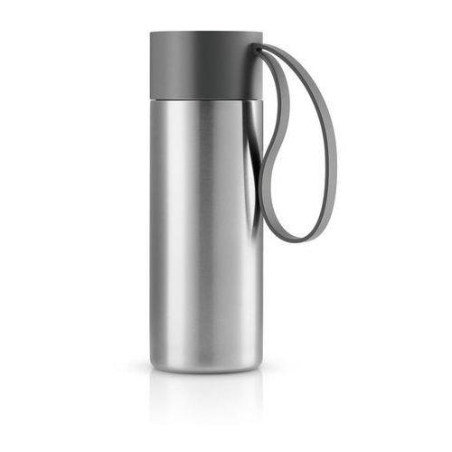 Eva solo Stalowy kubek termiczny to go cup, szary -