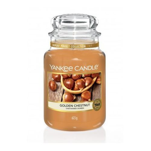 YANKEE CANDLE ŚWIECA GOLDEN CHESNUT 623G