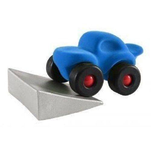 Monster car z podjazdem, kolor niebieski