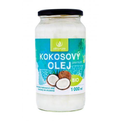 Allnature premium bio coconut oil preparat prozdrowotny 1000 ml unisex