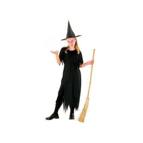 Aster Strój na halloween wiedźma 7 - 9 lat, kostium/ przebranie dla dzieci, odgrywanie ról