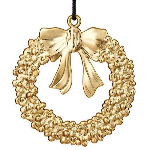 Rosendahl Ozdoba świąteczna karen blixen wieniec złoty
