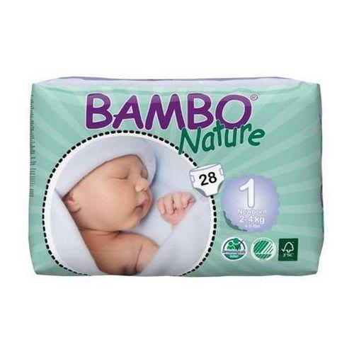 Bambo Nature Newborn 2-4kg, 28szt. z kategorii Pieluchy jednorazowe