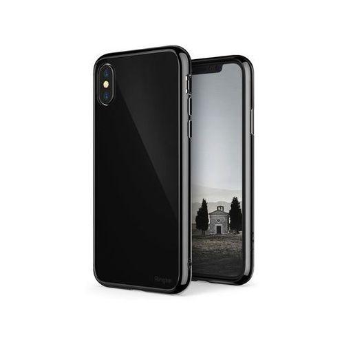 Etui Ringke Fusion do Apple iPhone X Shadow Black + Szkło 9H