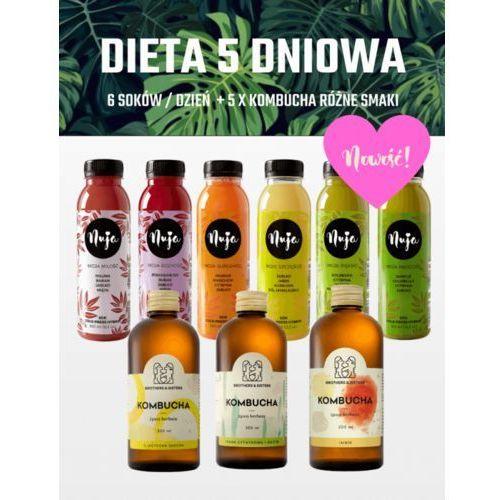 Nuja Dieta 5 dniowa premium - detoks sokowy