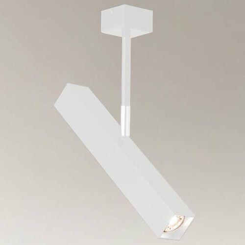 LAMPA sufitowa MITSUMA 7883 Shilo regulowana OPRAWA industrialna metalowa biała