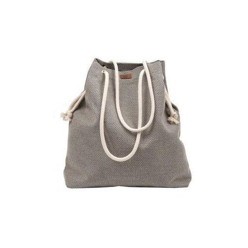 Torba basic z tkaniny beżowa marki Me&bags