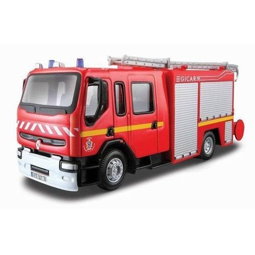 Renault premium straż pożarna 1:50 bburago (4893993320028)