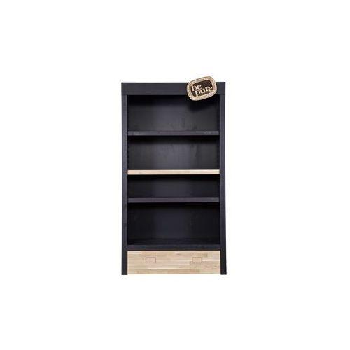 komoda ekspozycyjna bepure, kolor czarny 800800-z marki Be pure