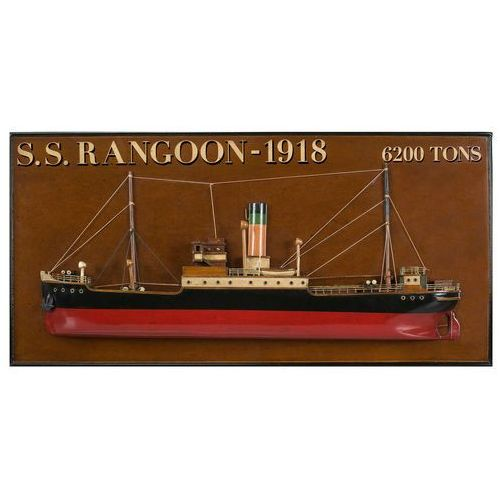 Authentic Models Dekoracja Tramp Steamer 'Rangoon' AS300