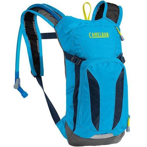 Camelbak Plecak dziecięcy rowerowy mini m.u.l.e. 3l/ bukłak crux 1,5l niebieski