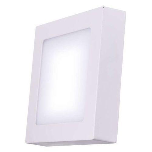 Emos kwadratowa lampa led, 6w, biały ciepły