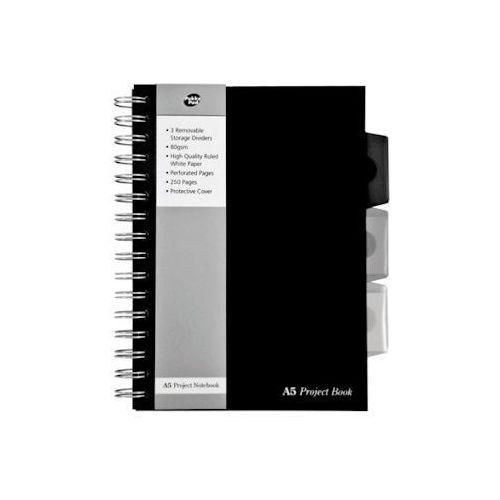 Kołonotatnik a5 pukka project book black range 250 marki Dystrybucja melior