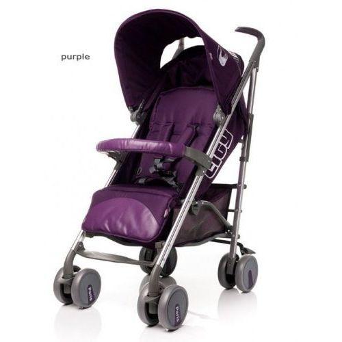 Wózek spacerowy  city purple marki 4baby