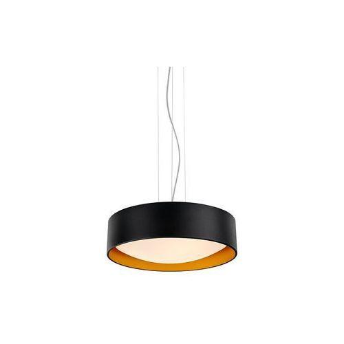 Kaspa - Lampa wisząca Vero - czarno-złota, 10451302
