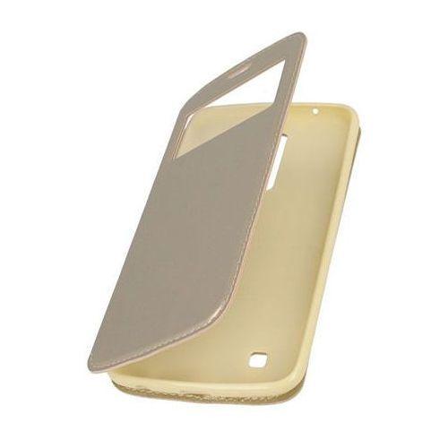 Flip Leather Złoty | Etui z klapką dla LG K8