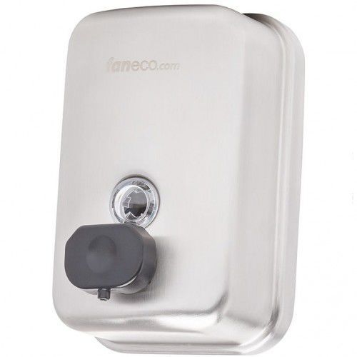 Dozownik do mydła w płynie 1 litr TOP Faneco stal szlachetna matowa, S1000SPB