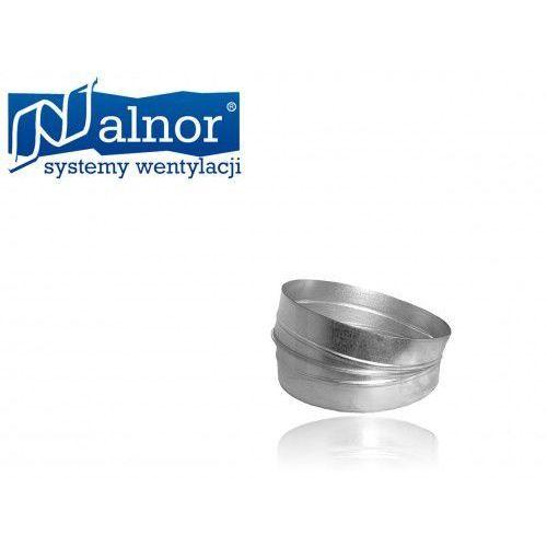 Kolano segmentowe krótkie 15° 250mm (bsk-250-15) wyprodukowany przez Alnor