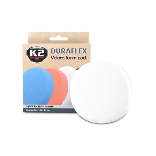 Duraflex - biała gąbka polerska na rzep gąbka lekkościerna, średnio twarda - szt marki K2