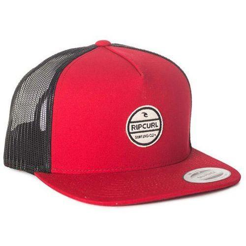 czapka z daszkiem RIP CURL - Bluff Flat Trucker Cap Red (40) rozmiar: TU