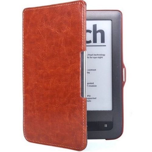 Etui Book Cover PocketBook TOUCH LUX 2/3 626/ 624 /614 Brązowy