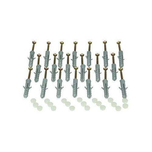 Zestaw montażowy do szyny sufitowej (kołki, zaślepki po 20 szt.) INSPIRE