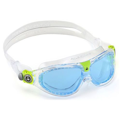 Aquasphere okulary seal kid2 2018 niebieski szkła, transparent marki Aqua sphere