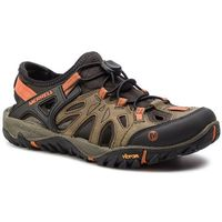 Merrell Sandały - all out blaze sieve j32835 light brown