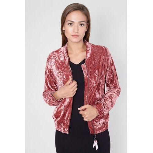 Click fashion Kurtka bomberka model grossa 9213 pink