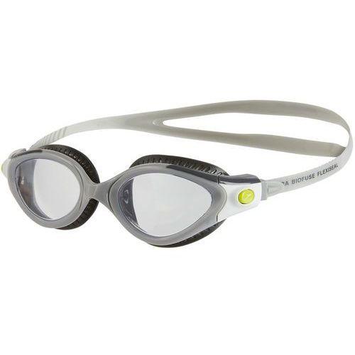 futura biofuse flexiseal okulary pływackie kobiety szary 2018 okulary do pływania marki Speedo