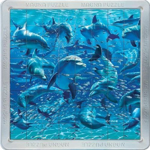 Piatnik Magna dolphins mega, puzzle 3d (5015766021089)