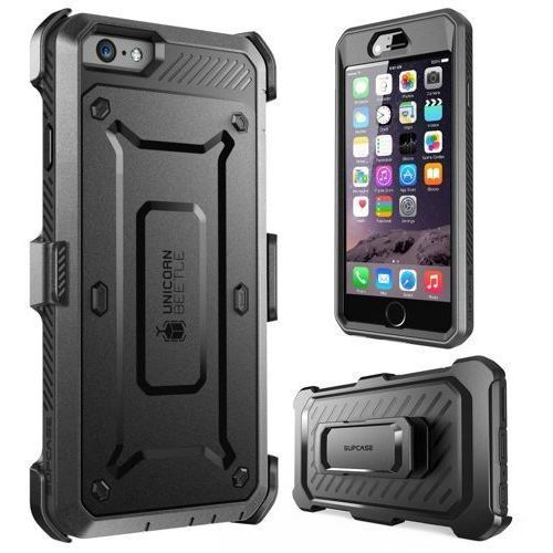 Supcase  unicorn beetle pro black | obudowa dla modelu apple iphone 6 / 6s