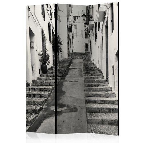 Parawan 3-częściowy - stare miasto w altea [room dividers] marki Artgeist