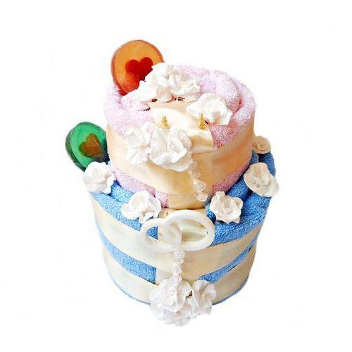 OKAZJA - ŚLUBNY TORT z Ręczników z Niespodzianką