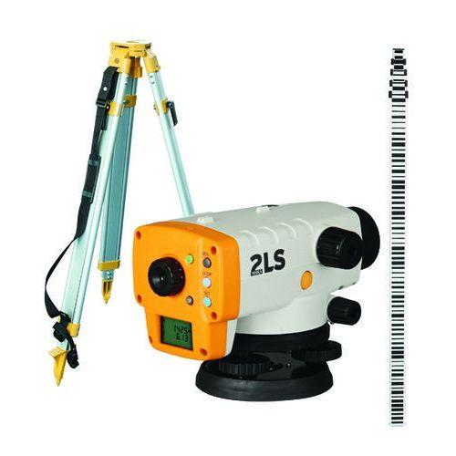 Niwelator elektroniczny 2ls orion plus +statyw + łata, marki Topcon