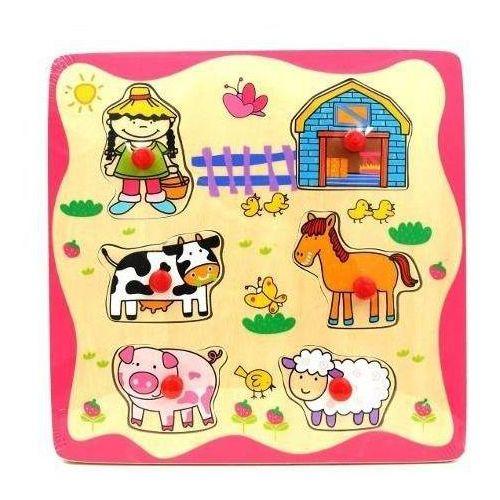 Drewniane Puzzle Farma (5907791564573)