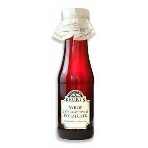 KROKUS 375g Syrop z czerwonych porzeczek tradycyjna receptura, PEKO-801
