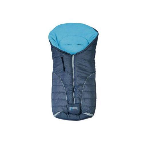ALTABEBE Śpiworek zimowy Alpin do wózka kolor ciemnoszary/niebieski (4897015977566)